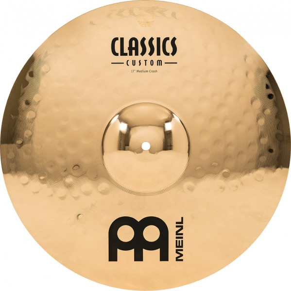 "MEINL Cymbals Classics Custom Medium Crash - 17"" Brilliant Finish (CC17MC-B)"