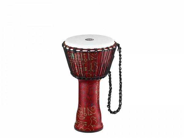 MEINL Percussion Travel Series African Djembe - Pharaoh's Script, Medium - Synthetic Head (PADJ1-M-F)