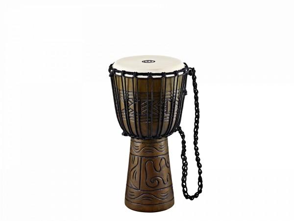 "MEINL Percussion Headliner Rope Tuned Artifact Series Djembe Medium - 10"" Brown (HDJ17-M)"