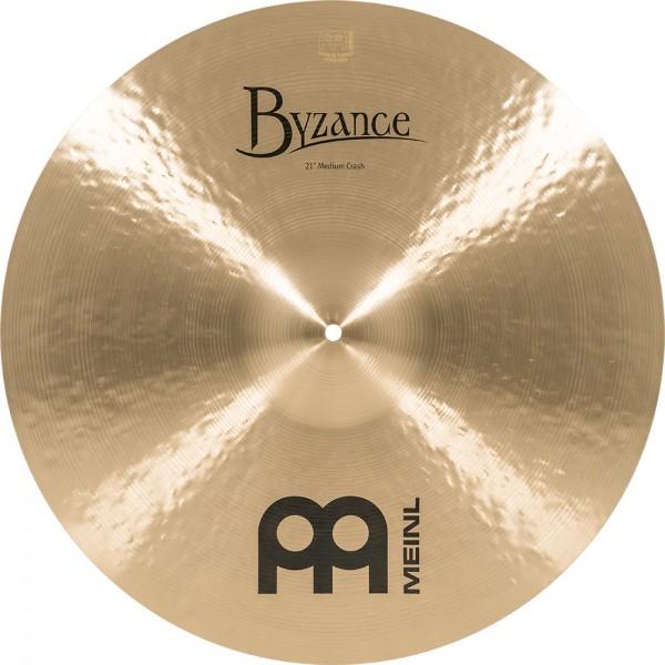 "MEINL Cymbals Byzance Traditional Medium Crash - 21"" (B21MC)"