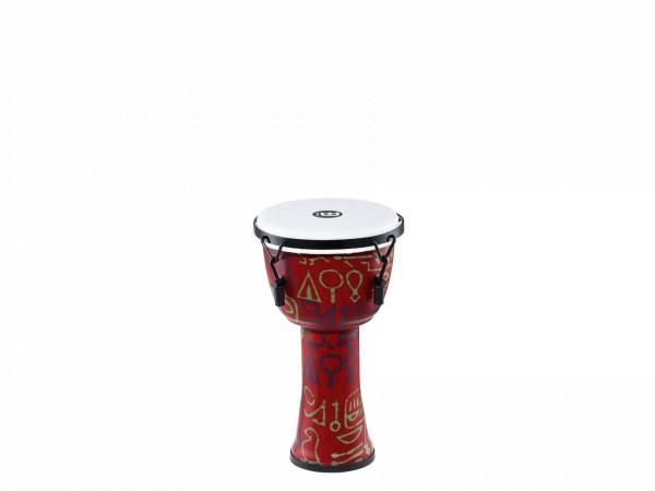 MEINL Percussion Travel Series Djembe - Pharao's Script, Small - Synthetic Head (PMDJ1-S-F)