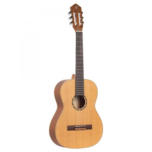 ORTEGA Family Series Classical Guitar 7/8 - Natural Cedar + Bag (R122-7/8)