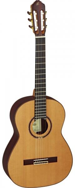ORTEGA Classical Guitar Custom Master Selection Series 4/4 inclusive hardcase MADE IN SPAIN ! - NT- Natural Cedar (M3CS)