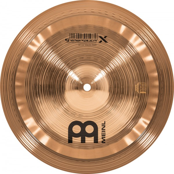 "MEINL Cymbals Generation X Electro Stack - 10""/12"" (GX-10/12ES)"