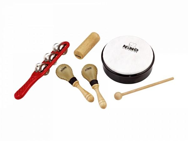 NINO Percussion Rhythm Assortment - 5 parts (NINOSET1)