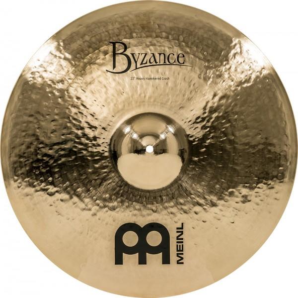 """MEINL Cymbals Byzance Brilliant Heavy Hammered Crash - 22"""" (B22HHC-B)"""