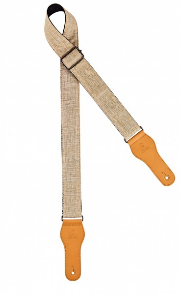 "ORTEGA cotton guitar strap - length 1580mm / 62"" (Max) / width 50mm - ice (OCS-230)"