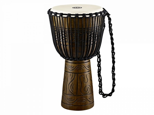 """MEINL Percussion Headliner Rope Tuned Artifact Series Djembe Extra Large - 13"""" Brown (HDJ17-XL)"""