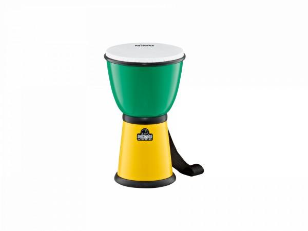 NINO Percussion ABS Djembe - Green/Yellow (NINO18G/Y)