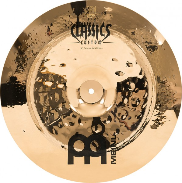 "MEINL Cymbals Classics Custom Extreme Metal China - 16"" Brilliant Finish (CC16EMCH-B)"