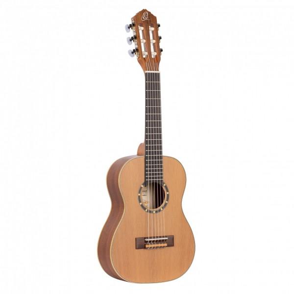 ORTEGA Family Series Classical Guitar 1/4 - Natural Cedar + Bag (R122-1/4)