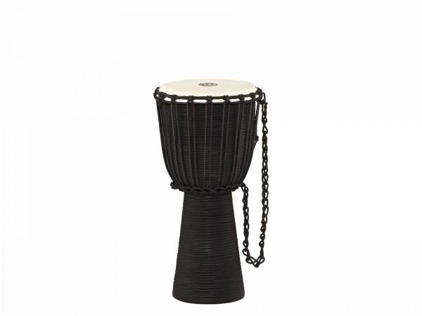"MEINL Percussion Headliner Rope Tuned Black River Series Djembe - 10"" Medium (HDJ3-M)"