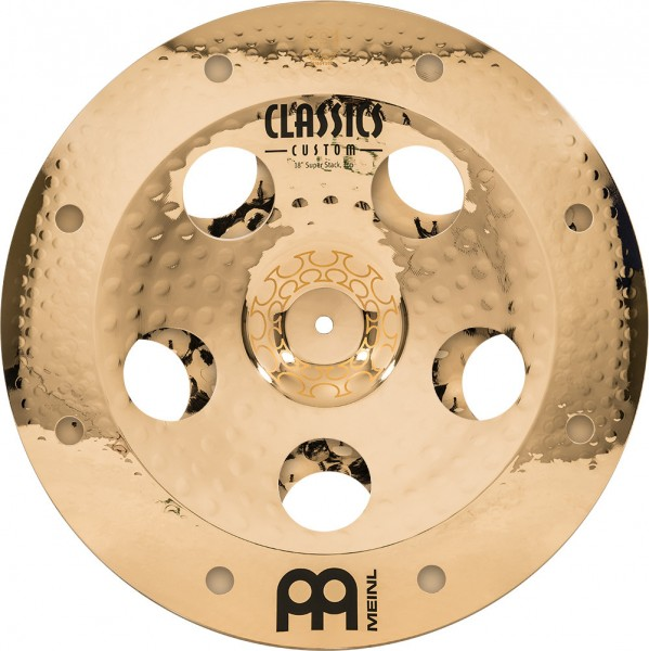 "MEINL Cymbals Artist Concept Super Stack - Thomas Lang - 18""/18"" (AC-SUPER)"