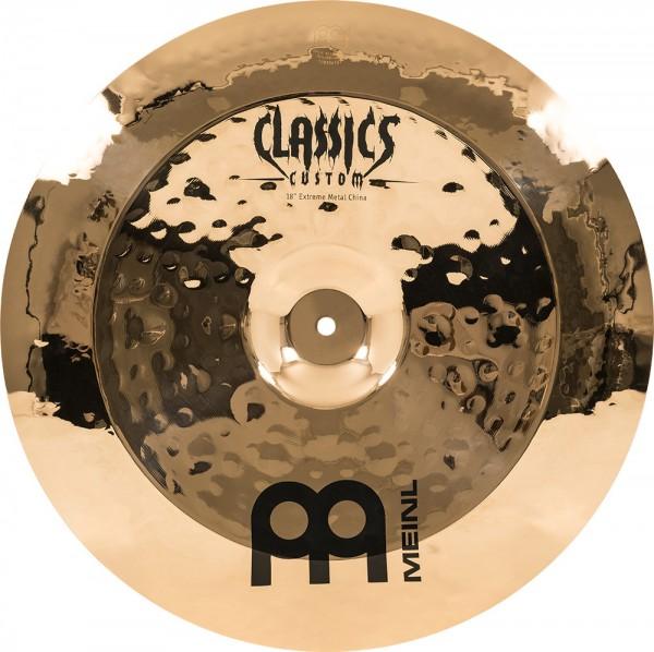 "MEINL Cymbals Classics Custom Extreme Metal China - 18"" Brilliant Finish (CC18EMCH-B)"