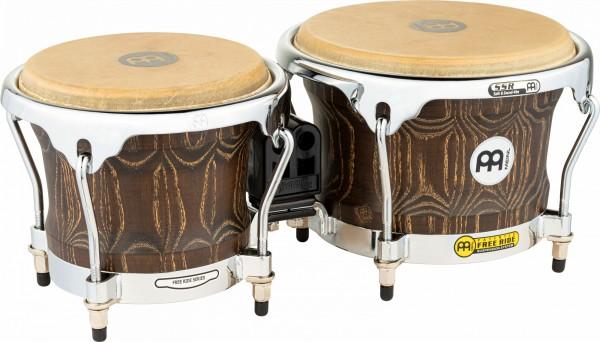 "MEINL Percussion Wood Bongo - Vintage Brown 7"" MACHO & 8 1/2"" HEMBRA (WB400VBR-M)"