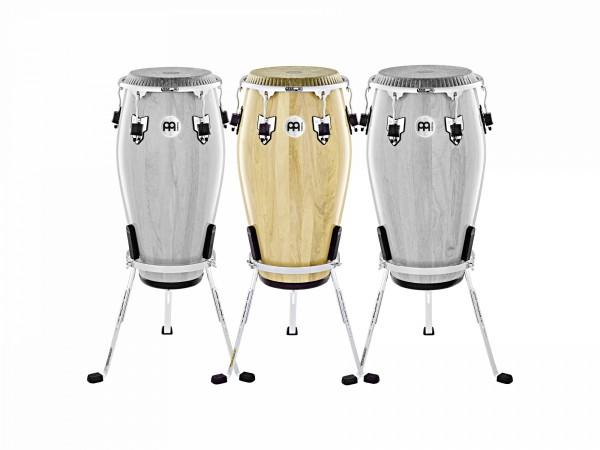 "MEINL Percussion Marathon Exclusive Series Conga - 11 3/4"" Conga 2 ply Siam Oak/ Chrom Hardware (MECR1134NT-CH)"