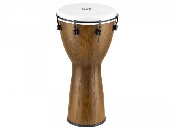 "MEINL Percussion Alpine Series Synthetic Djembe - 10"" Barnwood Finish (ADJ10-BW)"