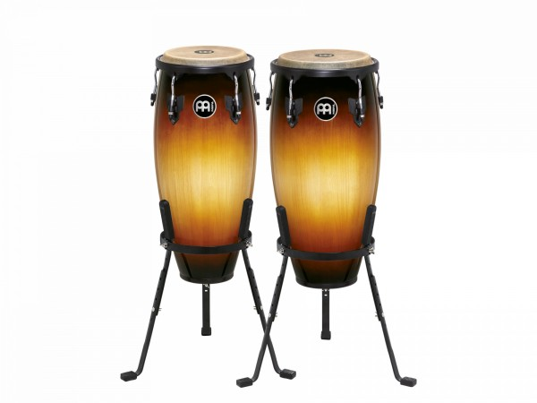 "MEINL Percussion Headliner Series 10"" and 11"" - Congas Vintage Sunburst (HC555VSB)"