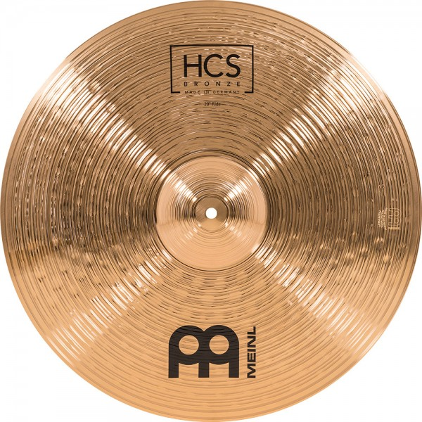 """MEINL Cymbals HCS Bronze Ride - 20"""" (HCSB20R)"""