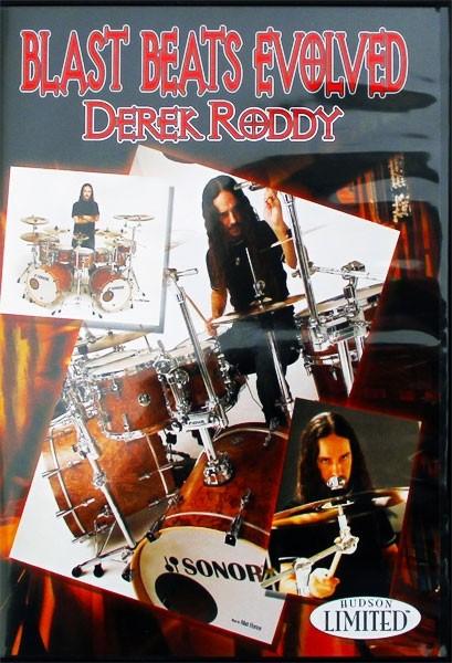 """DVD Derek Roddy """"Blast Beats Evolved"""" (DVD18)"""