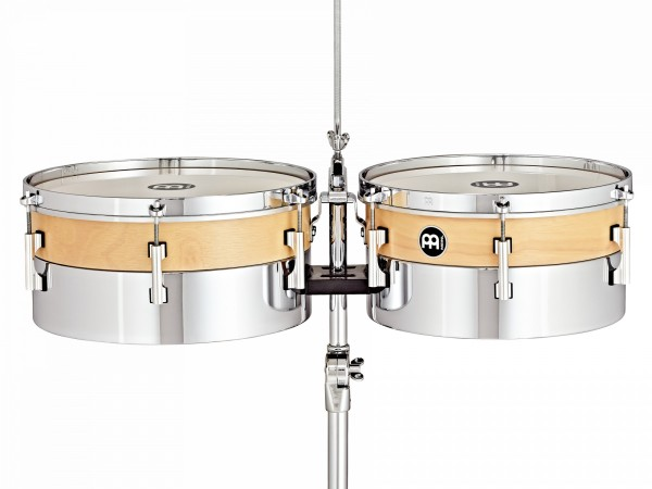 """MEINL Percussion Hybrid Timbales - 13"""" / 14"""" (HYT1314)"""
