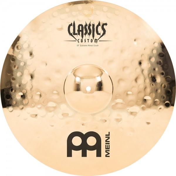 "MEINL Cymbals Classics Custom Extreme Metal Crash - 19"" Brilliant Finish (CC19EMC-B)"