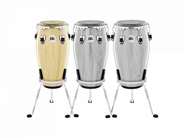 "MEINL Percussion Marathon Exclusive Series Conga - 11"" Quinto 2 ply Siam Oak/ Chrom Hardware (MECR11NT-CH)"