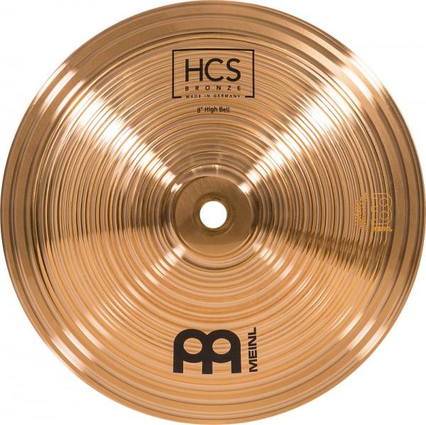 "MEINL Cymbals HCS Bronze High Bell - 8"" (HCSB8BH)"