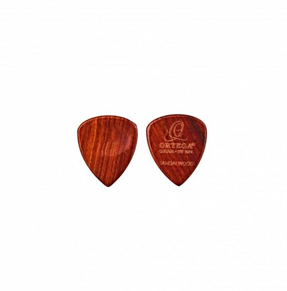 ORTEGA sandel wood picks - curved / 2pc pack (OGPW-SW2)
