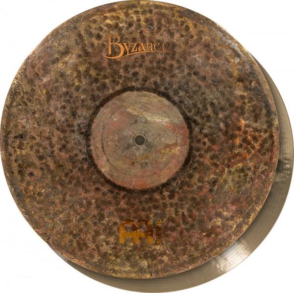 "MEINL Cymbals Byzance Extra Dry Medium Thin Hihat - 15"" (B15EDMTH)"