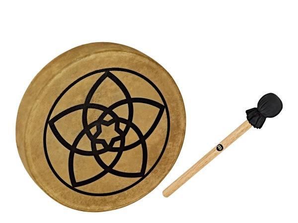 """MEINL Sonic Energy Native American-Style Hoop Drum - 15"""" / 38 cm Venus Flower (HOD15-VF)"""