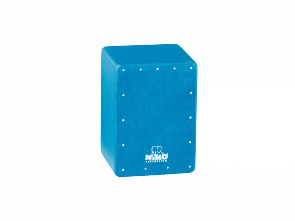 NINO Percussion Mini Cajon Shaker - Blue (NINO955B)