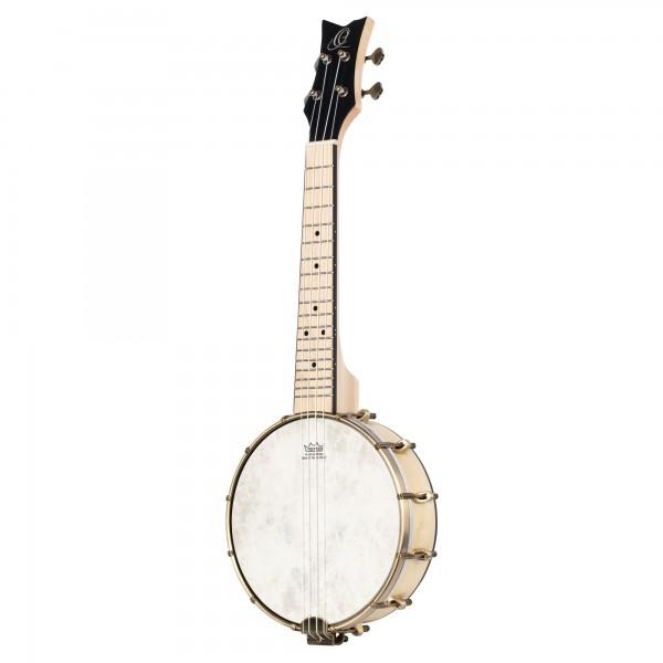 ORTEGA Banjolele Series Banjolele 4 String Lefty - + Gigbag (OUBJE90-MA-L)