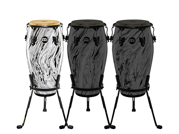 "MEINL Percussion Marathon Designer Serie - 11"" Quinto, White Marble (MCC11WHM)"