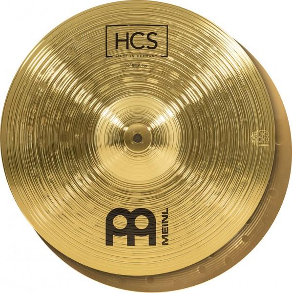 """MEINL Cymbals HCS Hihat - 15"""" (HCS15H)"""