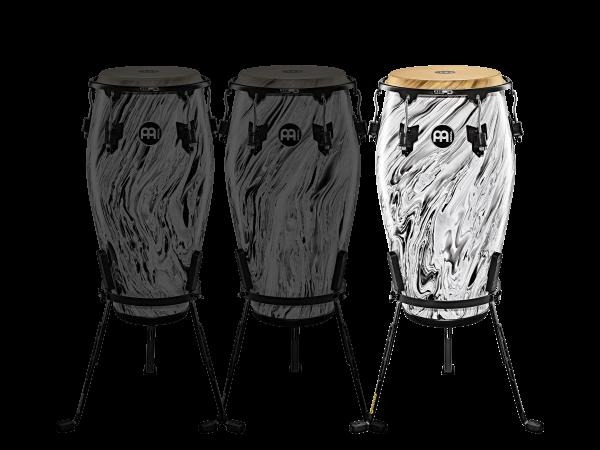 "MEINL Percussion Marathon Designer Series - 12 1/2"" Tumba, White Marble (MCC1212WHM)"