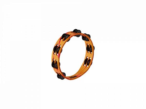 MEINL VivaRhythm Wood Tambourine - red/orange marble finish (VR-TA2-ROM)