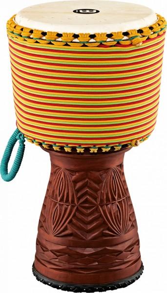 "MEINL Percussion Artisan Serie Tongo Carved Djembe - 12"" Rope around (AE-DJTC1-L)"
