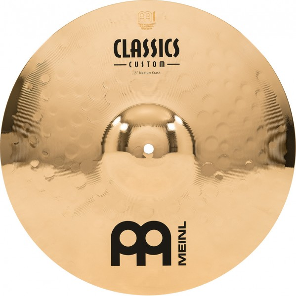 "MEINL Cymbals Classics Custom Medium Crash - 15"" Brilliant Finish (CC15MC-B)"
