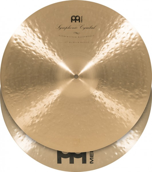 """MEINL Cymbals Symphonic Medium Heavy - 19"""" Traditional Finish (SY-19MH)"""