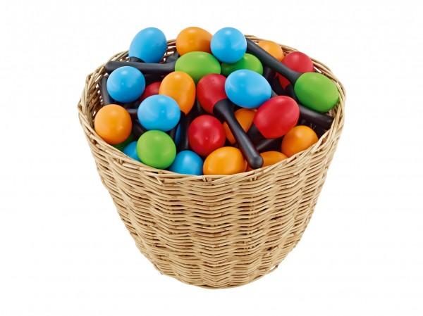 NINO Percussion Plastic Egg Maracas - Assortment 48-pcs (VE48-NINO569)