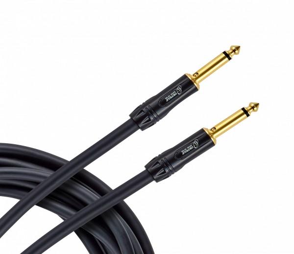 "ORTEGA MUTEplug instrument cable 1/4"" (6,3mm) straight/straight - black pvc 6m/0,75q (OTCIS-15)"