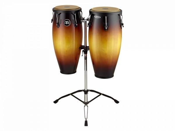 "MEINL Percussion Headliner Series 10"" and 11"" - Conga Set Vintage Sunburst (HC888VSB)"