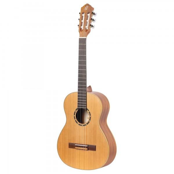 ORTEGA Concert Guitar Lefthand 3/4 Size - Natural Ceder + Bag (R122L-3/4)