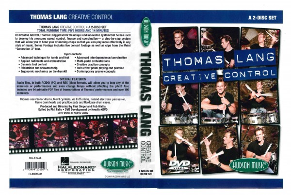 "Thomas Lang ""Creative Control"" DVD Set (DVD2)"
