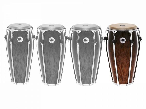"MEINL Percussion Floatune Series Tumba - 13"" Brown Burl (FL13BB)"