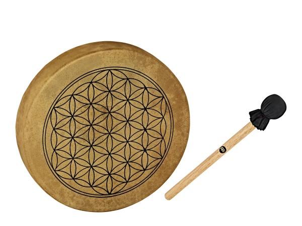 "MEINL Sonic Energy Native American-Style Hoop Drum - 15"" / 38 cm flower of life (HOD15-FOL)"