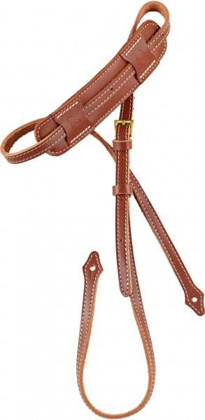 ORTEGA Deluxe Mandolin Strap Leather - Brown (OSMDLX-BR)
