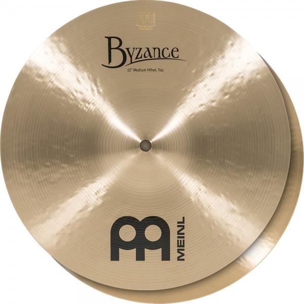 "MEINL Cymbals Byzance Traditional Medium Hihat - 13"" (B13MH)"