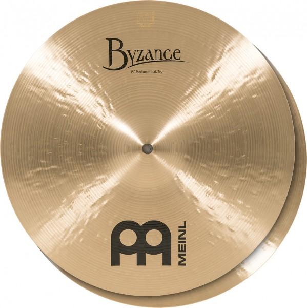 "Meinl Cymbals Byzance Traditional Medium Hihat - 15"" (B15MH)"